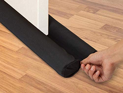 "Upgrade Door Draft Stopper, Fit 2"" Door Gap, Weather Stripping Noise Blocker, Saving Energy Under Door Guard, Adjustable 32"" to 36"" for Sound Dust Proof"
