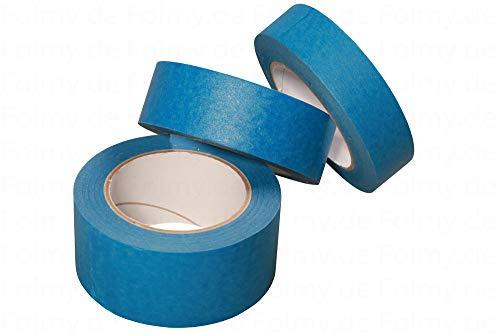 1 Rolle Malerkrepp. 50mm x 50 Meter. Blau. Abklebeband. Kreppband. Abdeckband. Malerband. Klebeband. Malerkreppband