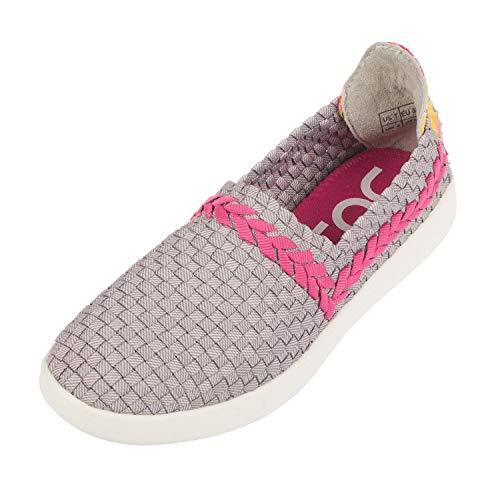 Dude Shoes Women's E-last Simple Funk Grey Slip On UK4 / EU37