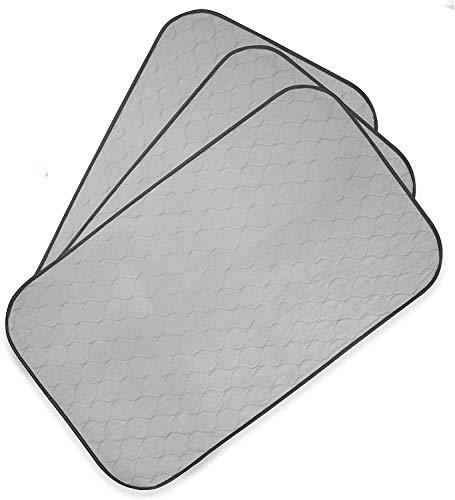 PET MAGASIN Toallitas de Entrenamiento para Mascotas, Paquete de 3, Almohadilla de Entrenamiento Lavable y Reutilizable (XL)