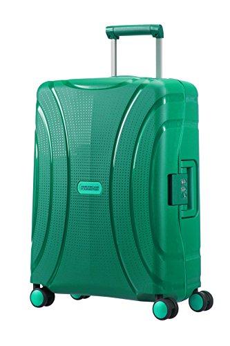 American Tourister Lock'N'Roll spinner, Bolsa de Viaje, Verde (Green), S (55cm-37L)