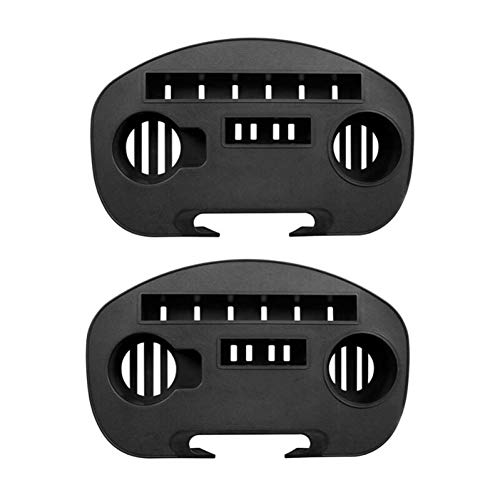 BYFRI 2pcs Utility Clip on Side Recliner Table Zero Gravity Chair Tray Cup Holder Carrying Chair Tray Lounge Chair Cup Holder