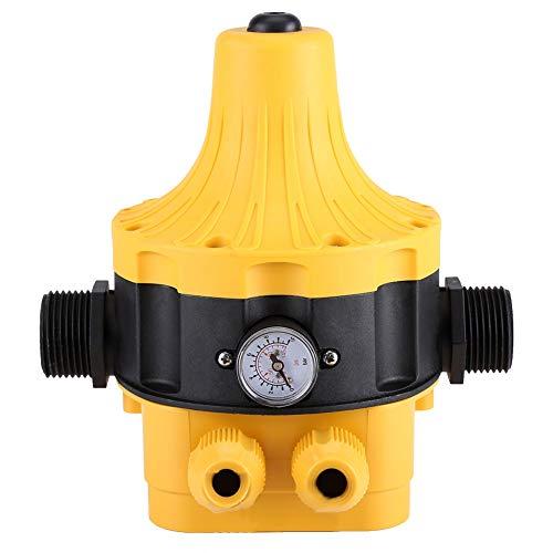 FTVOGUE automatico a pressione pompa acqua interruttore elettrico controller con misuratore di pressione controllo domestico interruttore elettronico regolabile
