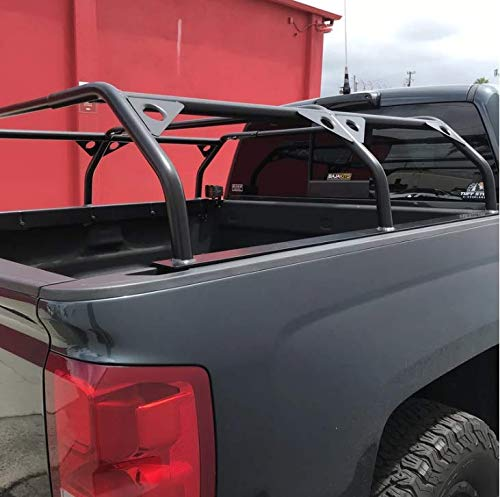 Tuff Stuff Overland Roof Top Tent Truck Bed Rack, Adjustable, Powder Coated, 60'