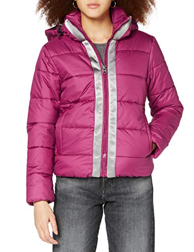 G-STAR RAW Womens Meefic Hooded Paded Jacket, dk Finch B958-8886, M