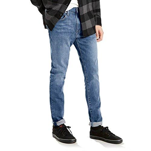 Levi's Men's 512 Slim Taper Fit Jean, Terry-Stretch, azul 34W x 30L