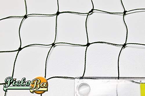 Pieloba Filet de clôture Épaisseur du fil 1,2 mm Mailles 5 cm Dimensions : 0,50 m x 15 m