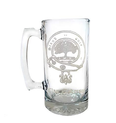 Clan Anderson Scottish Crest 26oz Stein, Family Crest Beer Mug