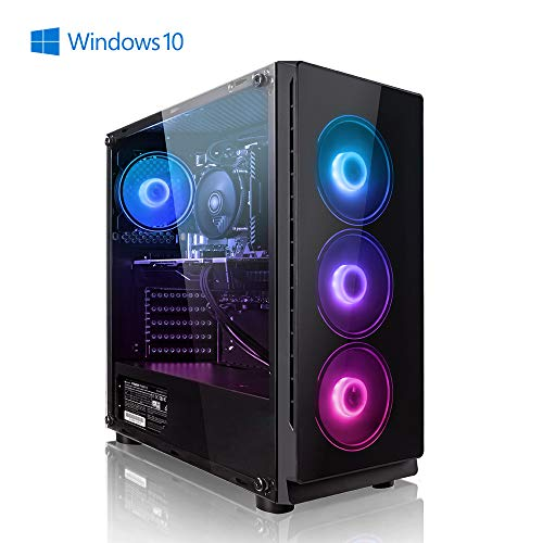 Megaport Gamer PC Intel Core i7-9700F 8X 4.7 GHz Turbo • AMD Radeon RX 5700 8GB • 480GB SSD • 16GB DDR4 • 1TB HDD • Windows 10 Home • WLAN • Gaming pc Computer Gaming Computer rechner high end