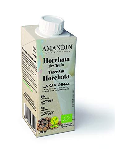 Amandin Horchata Ecológica De Chufa 200 Ml. 200 ml