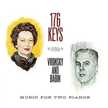 176 Keys - Music For 2 Pianos