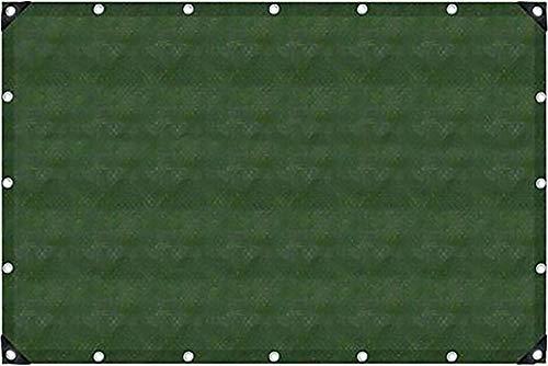 Gewebeplane - Abdeckplane - mit Ösen, 2m x 3m, 6m² - wasserdicht - reißfest olive 90g