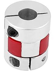 1 st Aluminium Plum Shaft Koppeling Koppeling Koppeling Sluit D25 L30 8mm naar 12mm voor Stappenmotor