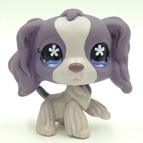 FINIMY Pet Shop Toys Lps Toy Littlest Lps Cat Rare Spaniel Dogs Original Kids Toys Girls' Collection Animals Figures 672