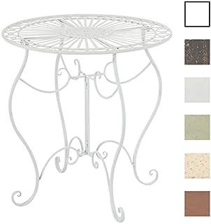 Amazon.fr : TABLE RONDE FER FORGE : Jardin