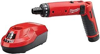 New Milwaukee 2101-21 M4 4 Volt Cordless 2 Speed Screwdriver Drill Kit