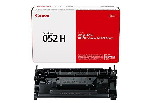 Genuine Toner Cartridge 052 Black, High Capacity (2200C001), 1-Pack, for  imageCLASS MF429dw, MF426dw, MF424dw, LBP215dw, LBP214dw Laser Printers, , 1 Size - Canon Toner 052 High Capacity Black