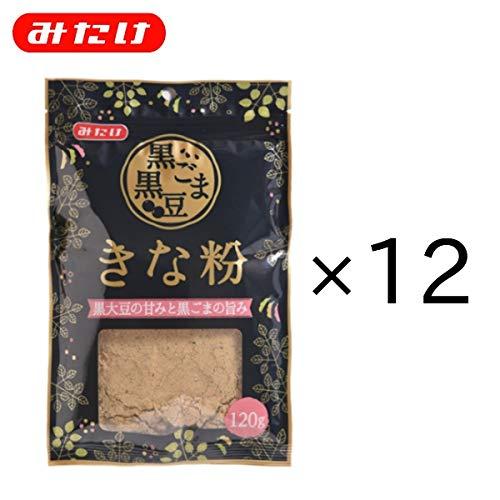黒ごま黒豆きな粉120g×12個セット