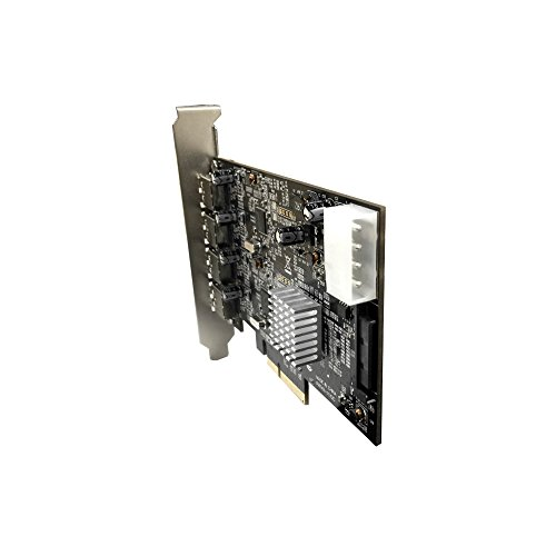 Vantec 4-Port Dedicated 10Gbps USB 3.1 Gen 2 PCIe Host Card with Dual Controller for PCIe x4/x8/x16 Slot Black/Silver Black/Silver (UGT-PCE470-2C)