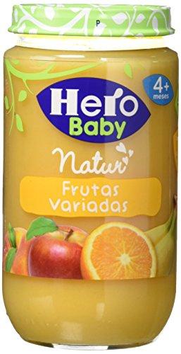 Hero Baby - Infantil Frutas Variadas. A Partir De 4 Meses.