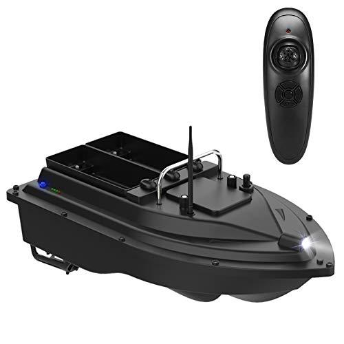 Roeam Barco Cebador Pesca,Barco Teledirigido de Pesca con Función de Iluminación Nocturna,2...