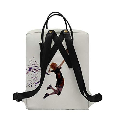 Haikyuu Rucksack für Kinderschüler Reisen Outdoor Outdoor Langlebige Schultasche Büchertasche