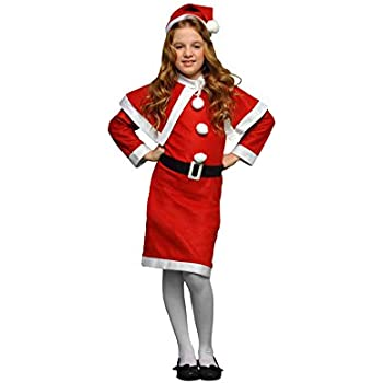 Disfraz de Mama Noel 4-6 años para niña: Amazon.es: Juguetes y juegos