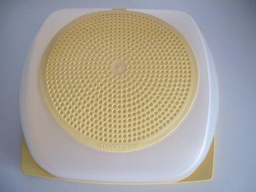 TUPPERWARE mega-max MegaMax quesera para queso grande XXL amarillo
