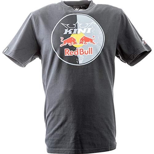 Kini Red Bull T-Shirt Circle Grau Gr. L