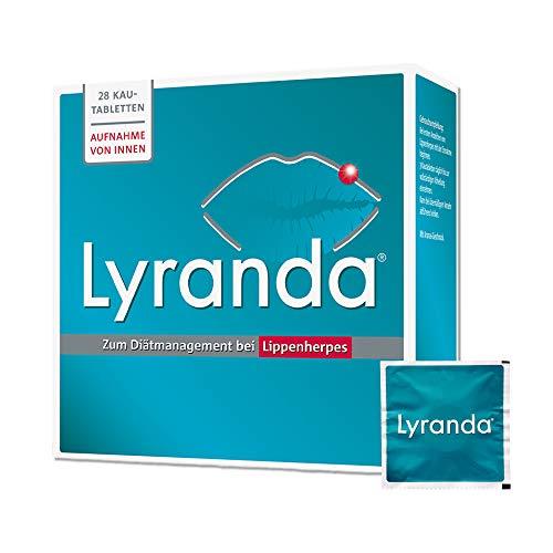 Lyranda bei Lippenherpes mit Ananas-Geschmack – 3000 mg L-Lysin hochdosiert aus Ihrer Apotheke - 28 Kautabletten
