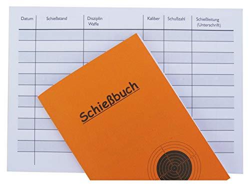 Druckteam Schleede & Partner Schießbuch als Nachweis für Behörde DIN A6 (1 Heft)