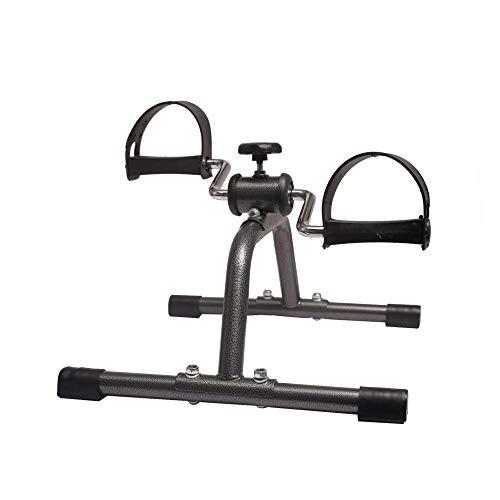Nice-Doormats Mini bicicleta estática bicicleta interior pierna superior e inferior ejercicio rehabilitación dispositivo de entrenamiento hermosa máquina de piernas paso a paso