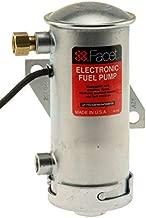Facet 40133N, Facet Cylindrical 12v Fuel Pump, 1/8 NPT, 4-5 psi, No-Filter