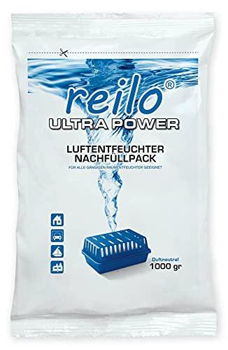10x 1kg Ultrapower Luftentfeuchter Granulat (Calciumchlorid) im Vliesbeutel für Raumentfeuchter