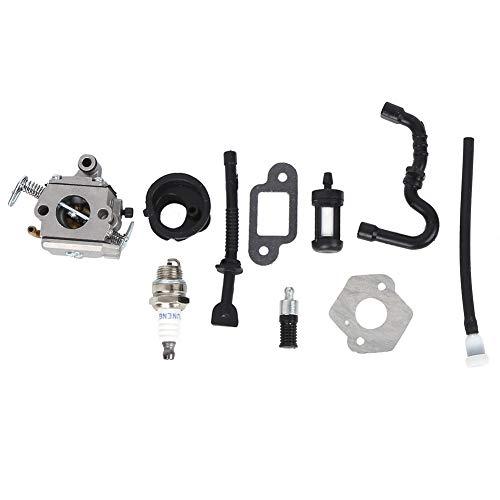 Longzhuo Carburador, Motosierra Carburador Accesorios de Hardware Aluminio Ligero para Stihl MS170/MS180