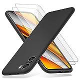 Richgle Compatibile con Cover Xiaomi Poco F3 / Mi 11i & [2 Pezzi] Pellicola Vetro Temperato,...