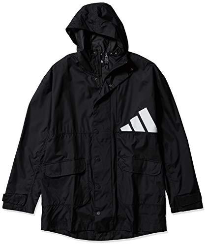adidas Athletics Men's Pack Parka, Jacket Black, X-Large