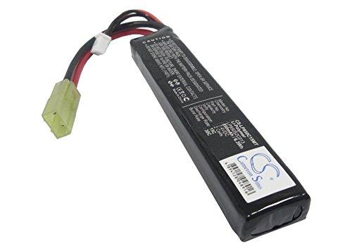 Batería Compatible con Airsoft Guns Mini Tamiya Li-Polymer 7.4V 850mAh