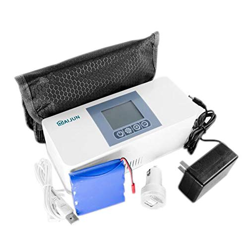 AIJUN Insulin Cooler Travel Case,Portable Mini Car Travel Refrigerator Cold Carrying Box Drug Reefer for Diabetic Insulin Refrigerated and Temperature
