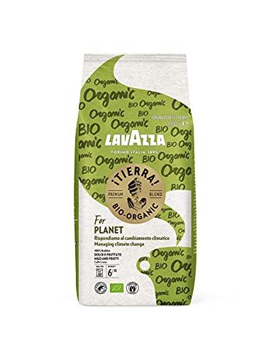 Lavazza ¡Tierra! For Planet, 1kg Packung, 100% hochwertigen Arabica Kaffeebohnen, Helle Röstung