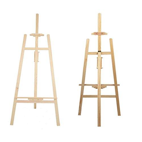 Cavalletto da studio in legno di pino 1.75m robusta tela del supporto con mobile bar per pittura disegnare disegno supporto