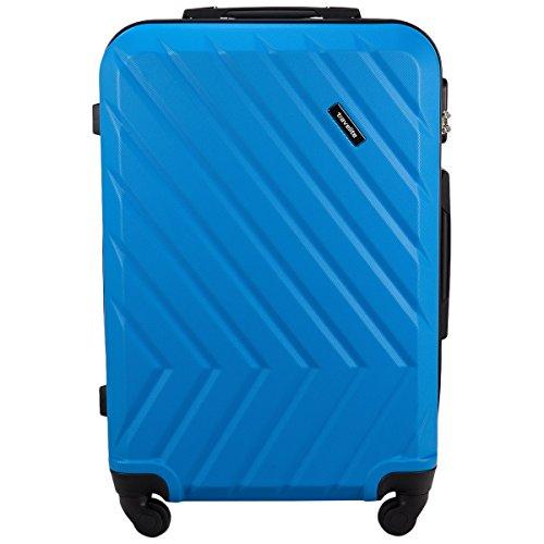 Travelite Quick 4 Rollen Trolley 64 cm blau