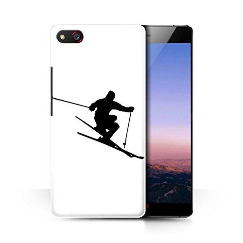 Stuff4 Telefoonhoesje/Hoes voor ZTE Nubia Z9 Max/Extreme Skier Design/Skieën/Snowboarden Collectie