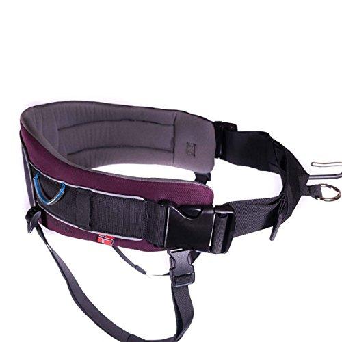 Non-Stop Dogware Hüftgurt Trekking Belt Zughunde, Laufgurt für Zughundesport (Purple)