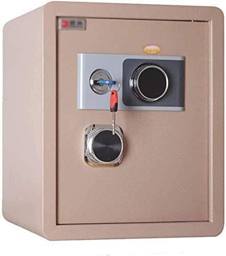 REWD Tresore Safe Hotel Homestay - Caja fuerte de acero con contraseña mecánica, llave resistente al fuego (tamaño: 45 x 38 x 33)