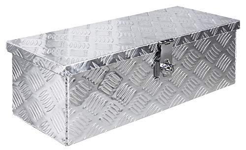 Truckbox Box Werkzeugkiste Anhängerbox Deichselbox 15 Größen Alumium Trucky, Boxentyp:D100 (99 x 33 x 32 cm) - 5