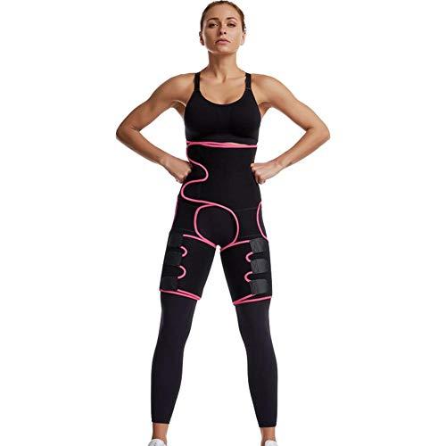 Hüftgurt Damen Sport Fitness Drei-in-eins-Hüftgurt Für Frauen Platzen Schweiß Kunststoffgürtel Sport Bodybuilding Verstellbaren Einteiligen Hüftgurt Wesen