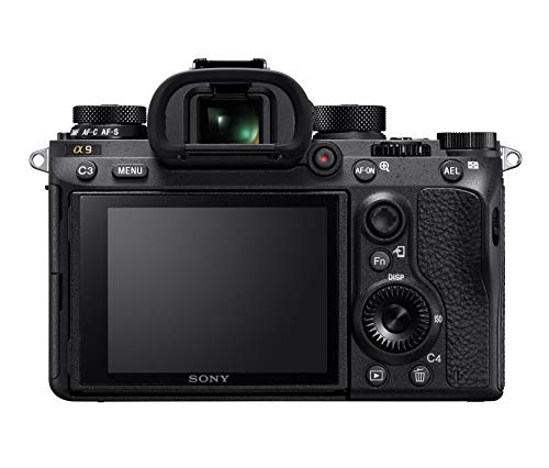 Sony a9 Full Frame Mirrorless Interchangeable-Lens Camera (Body Only) (ILCE9/B),Black