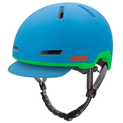 Nutcase - Tracer Fahrradhelm, Passt auf deinen Kopf, Passt zu Dir - Glacier Blue Matte, Klein/Mittel