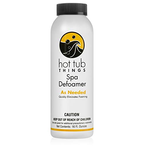 Hot Tub Things Defoamer 16 Ounce - Instantly Removes Foam from Spa Water